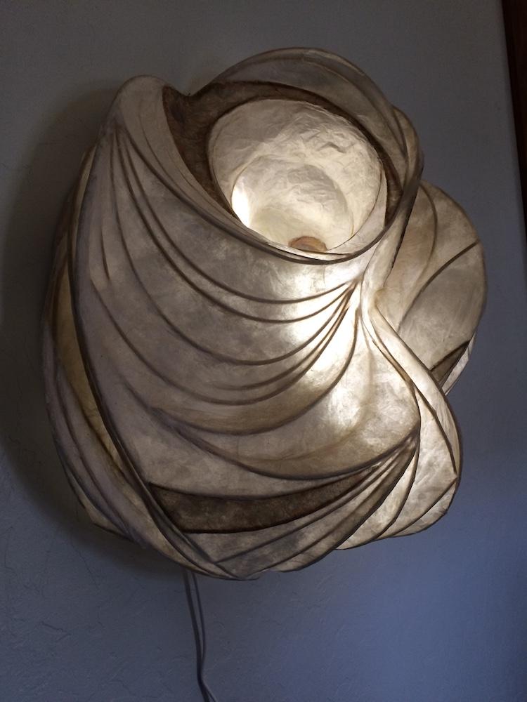 luminaria paper illuminated sculpture