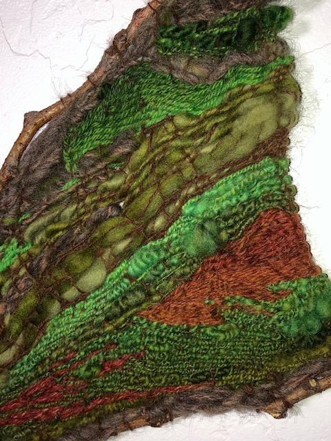 fiber art tapestry weaving
